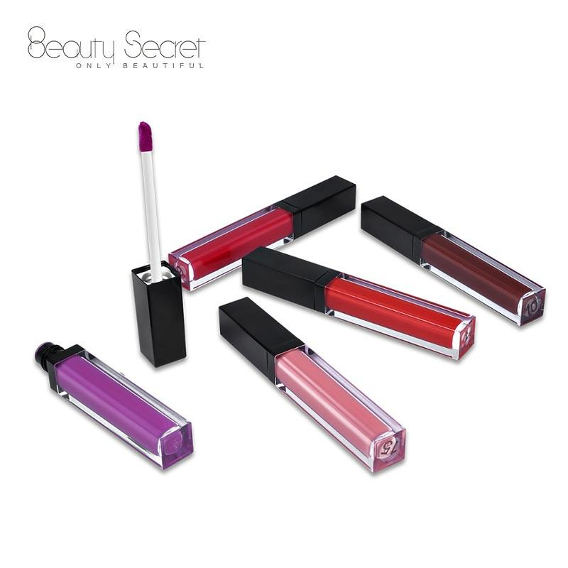 Private label cruelty free best no logo matte waterproof lipstick