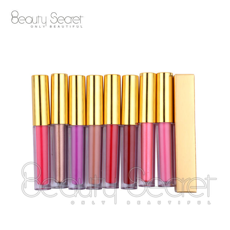 Wholesale waterproof longlasting make your own private label liquid matte lipstick