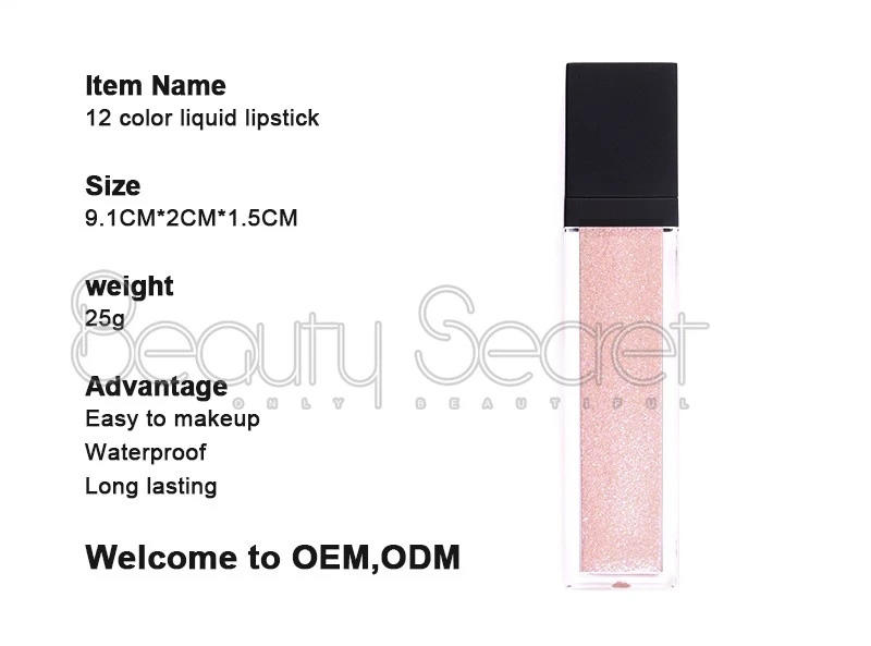 Beauty Secret Cosmetics perfect matte lipstick manufacturer for women