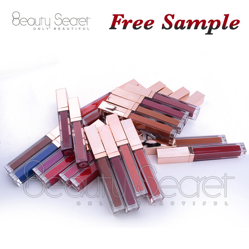 Low moq private label liquid lipstick matte waterproof long lasting