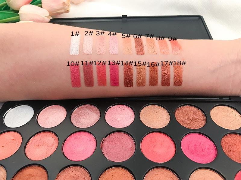 Beauty Secret Cosmetics shimmer eyeshadow palette powder for ladies-2