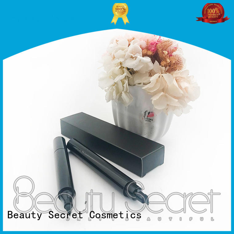 Beauty Secret Cosmetics packaging black eyeliner stamp for beauty