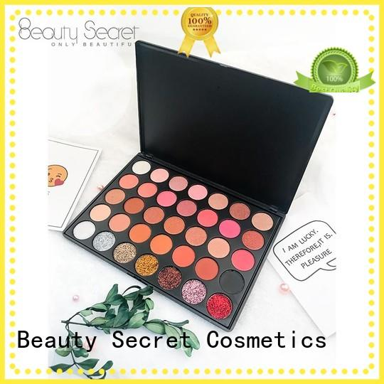 Beauty Secret Cosmetics loose powder cosmetics eyeshadow with mirror fast delivery