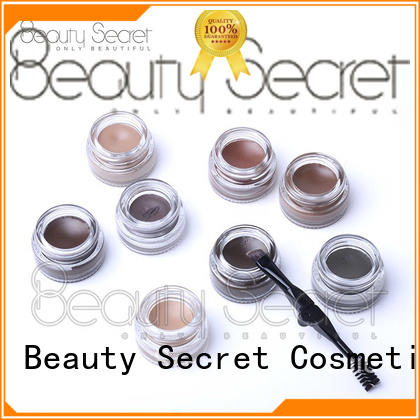 Beauty Secret Cosmetics cosmetic eyebrow brush set stamp powder for women