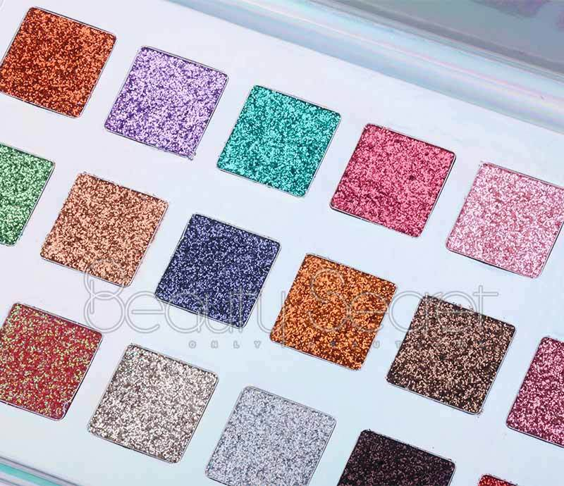Beauty Secret Cosmetics long lasting shimmer eyeshadow palette powder for sale-3