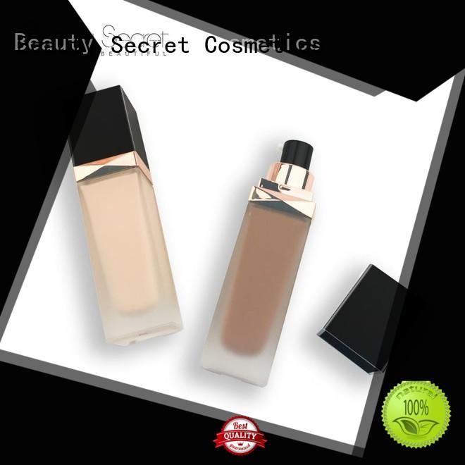 Beauty Secret Cosmetics high quality foundation cosmetics with mirror for beauty