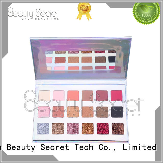Beauty Secret Cosmetics diamond neutral eyeshadow palette professional for makeup