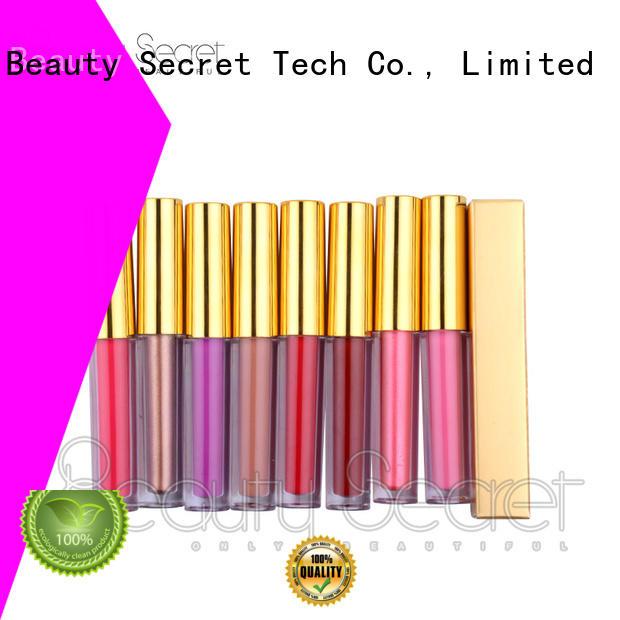 liquid matte liquid lipstick liner for ladies Beauty Secret Cosmetics