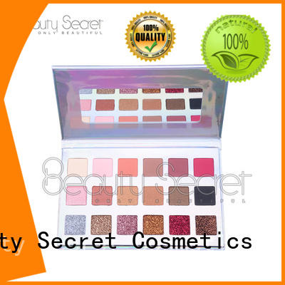Beauty Secret Cosmetics natural eyeshadow with mirror for ladies