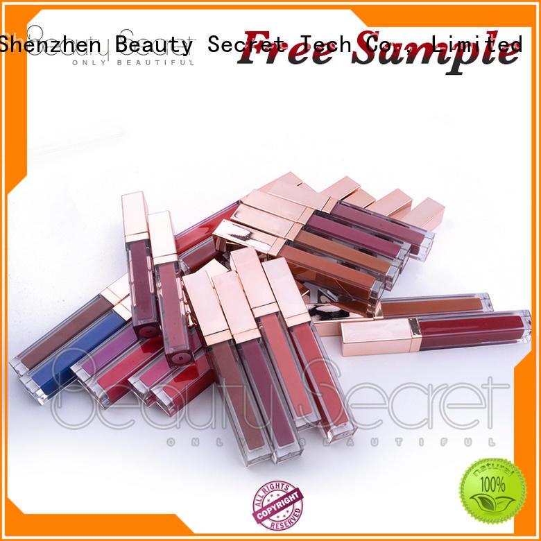 Beauty Secret Cosmetics perfect lipstick making manufacturer for ladies