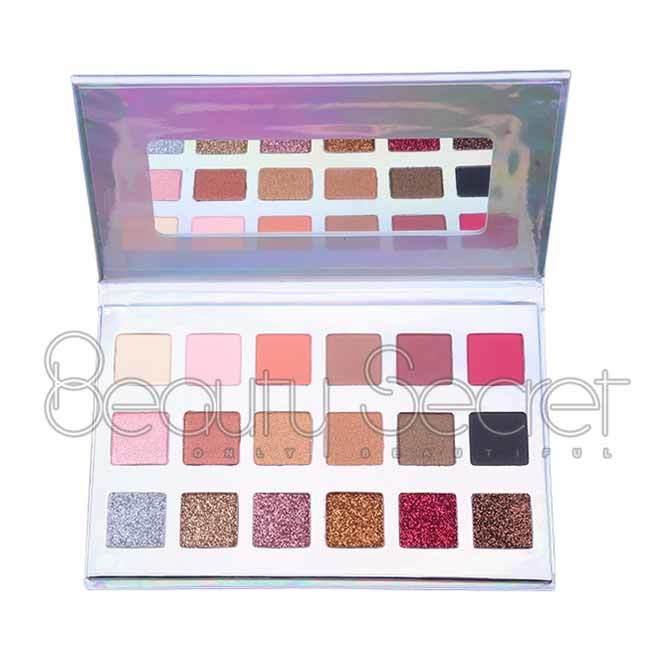 Beauty Secret Cosmetics long lasting shimmer eyeshadow palette powder for sale-1
