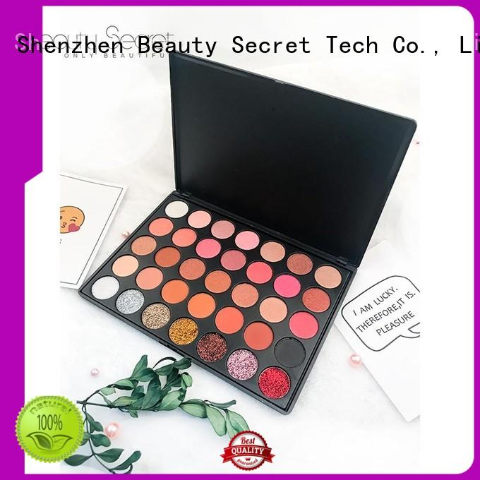 Beauty Secret Cosmetics shimmer eyeshadow palette powder for ladies