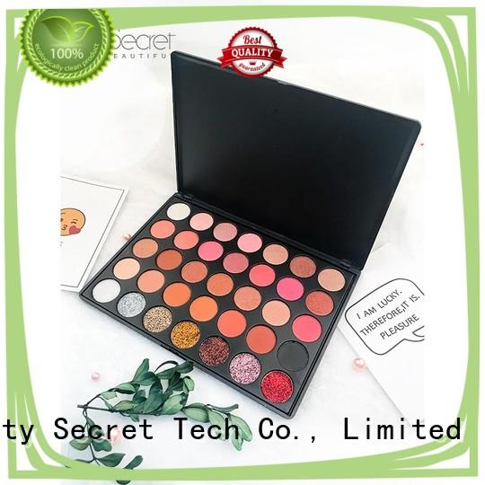 long lasting shimmer eyeshadow palette with mirror fast delivery