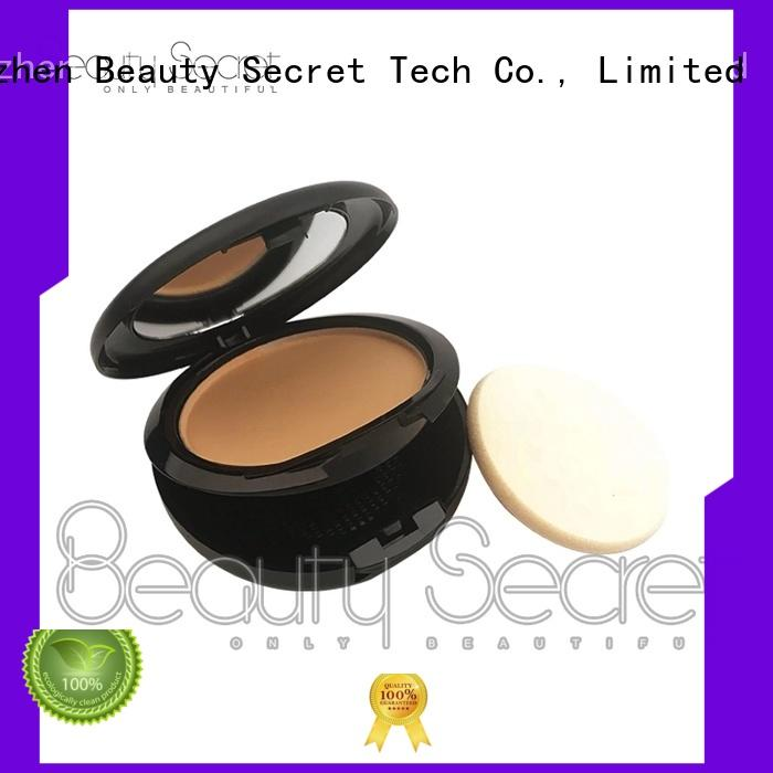 Beauty Secret Cosmetics oem foundation cosmetics with mirror for makeup