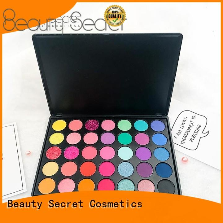 latest new eyeshadow palettes high quality for makeup Beauty Secret Cosmetics