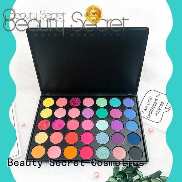 Beauty Secret Cosmetics natural eyeshadow with custom logo for ladies