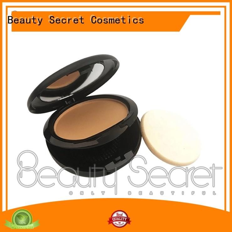 Beauty Secret Cosmetics oem liquid foundation with mirror for makeup