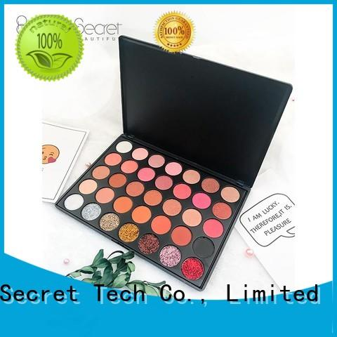 fast delivery custom eyeshadow palette high quality for ladies Beauty Secret Cosmetics