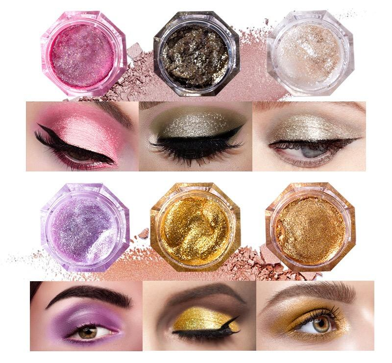 Beauty Secret Cosmetics shimmer eyeshadow palette powder for ladies