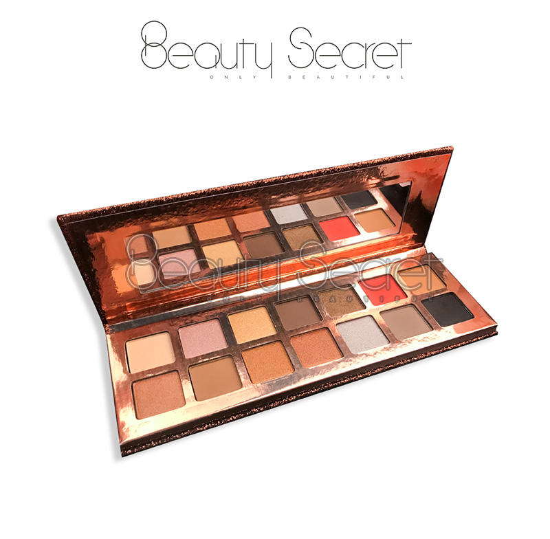 Beauty Secret Cosmetics shining shimmer eyeshadow palette with custom logo fast delivery-3
