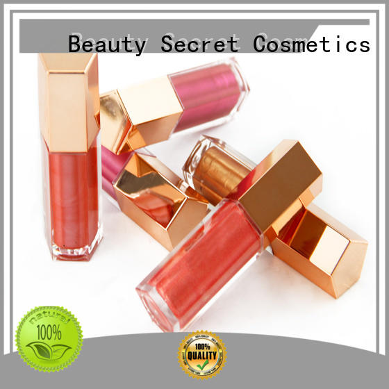 waterproof custom lip gloss with your own logo wholesale