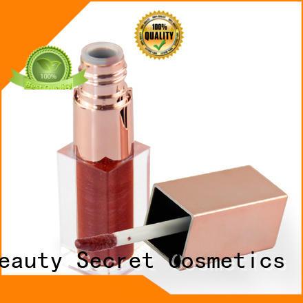 Beauty Secret Cosmetics custom lip gloss supplier wholesale