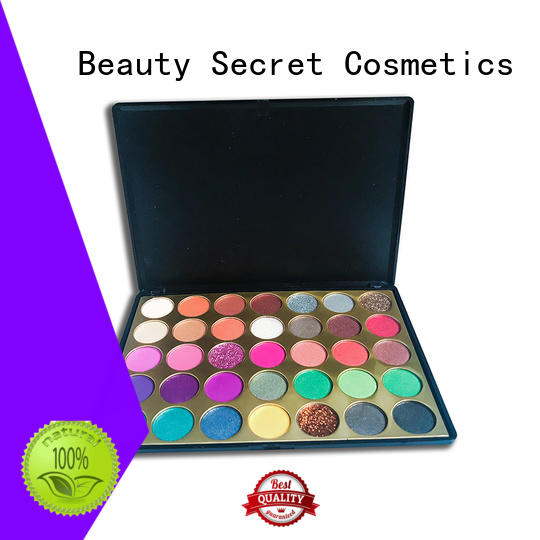 Beauty Secret Cosmetics free wholesale eyeshadow with mirror for makeup
