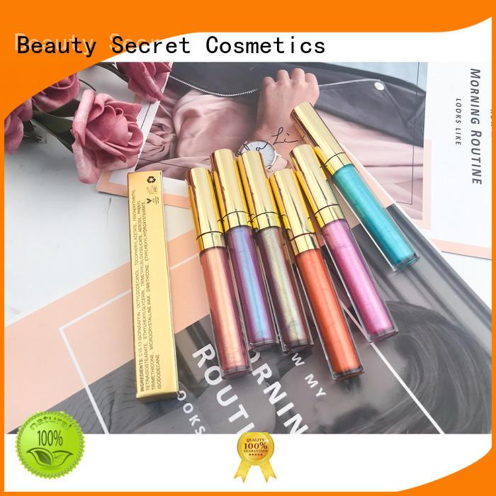Beauty Secret Cosmetics wholesale lip gloss manufacturer fast delivery