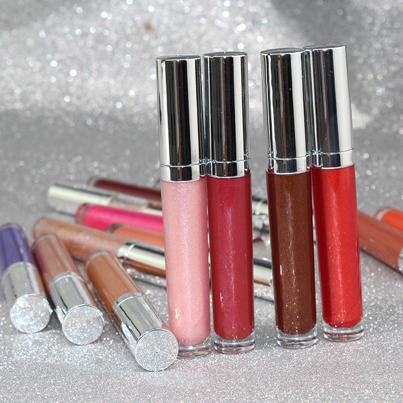 Wholesale high quality shimmer lipgloss moisturizing vegan private label lip gloss