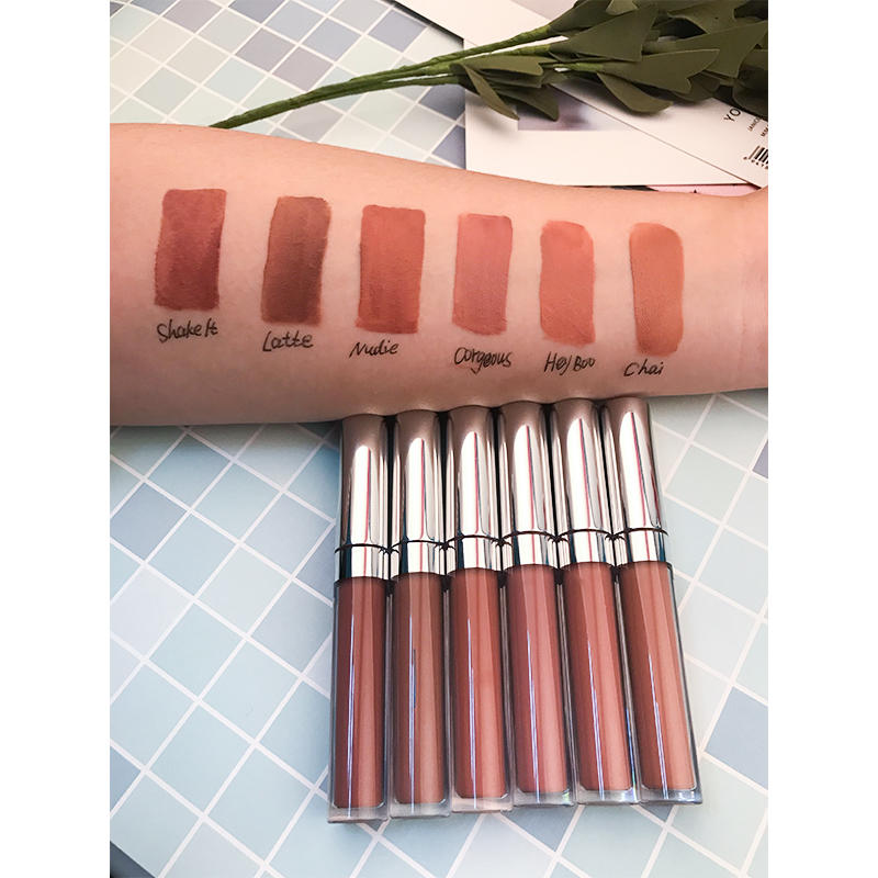 Perfect long lasting custom vegan matte liquid private label lipstick