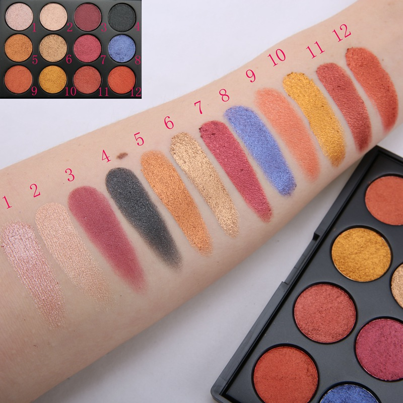 Beauty Secret Cosmetics shimmer eyeshadow palette powder for makeup-4