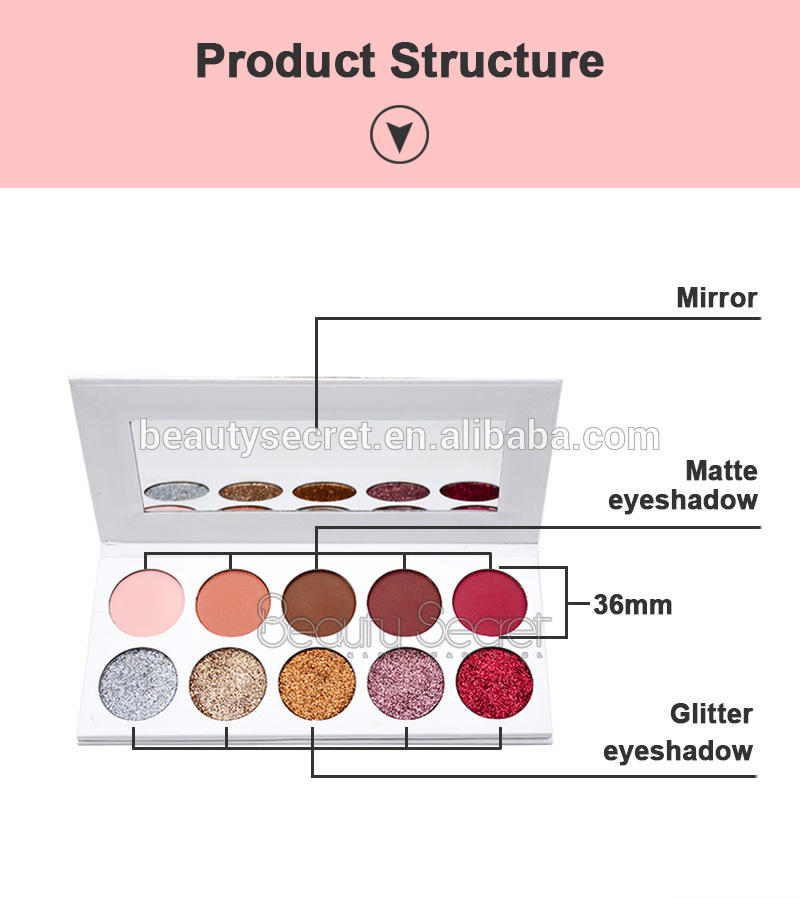 lasting cheap eyeshadow palette diamond eye shadow wholesale