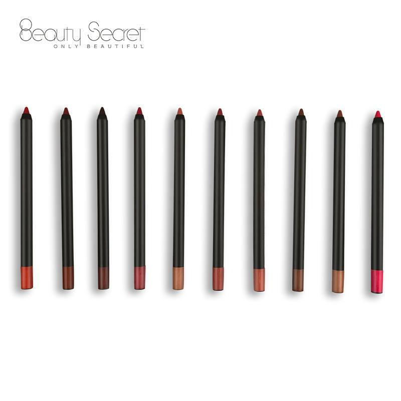 high quality 3 in 1 long lasting wholesale lip liner pencil lip liner makeup