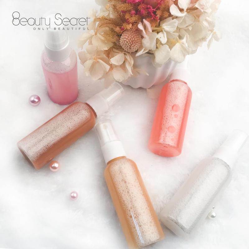 Long Lasting Private label Glitter Makeup Setting Liquid Highlighter Spray