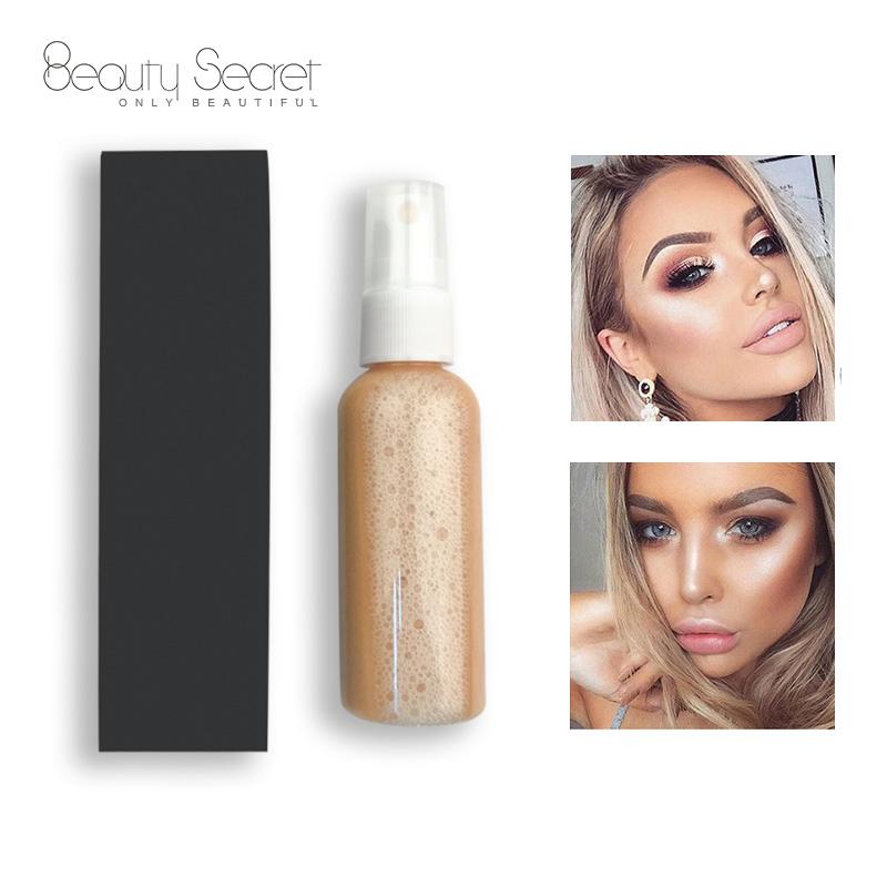 Beauty Secret Cosmetics moisturizing liquid highlighter setting for sale-4