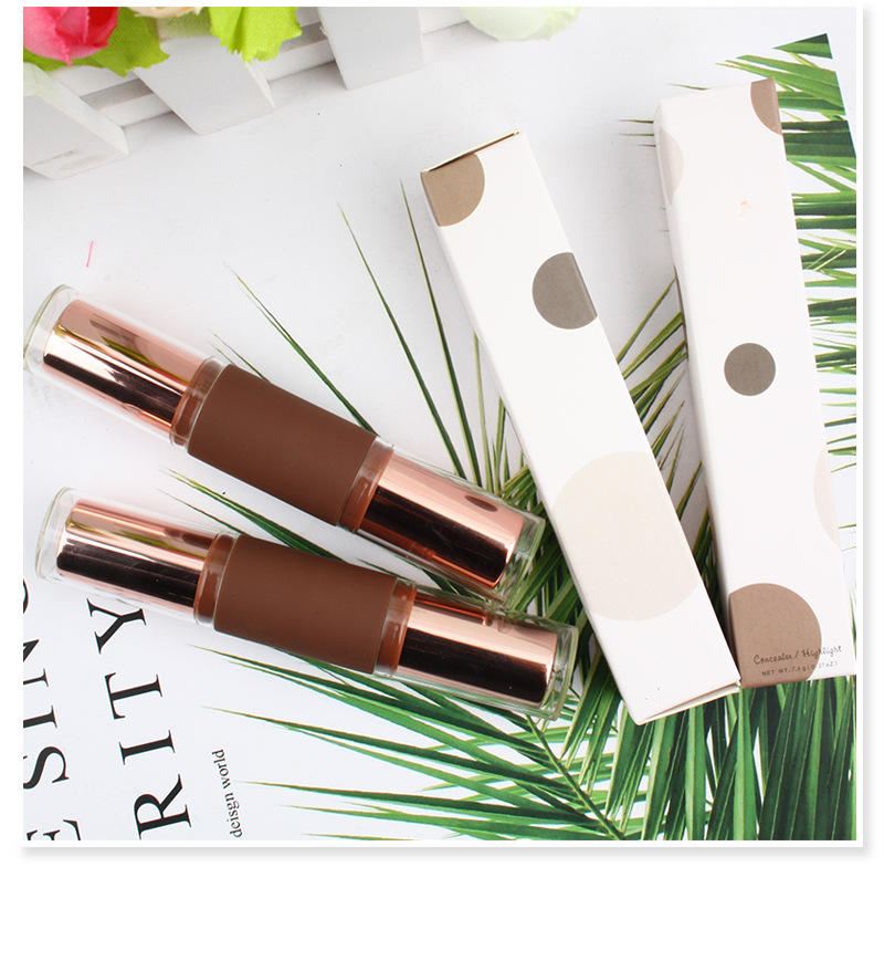 4 color Long lasting waterproof makeup contour private label highlighter stick