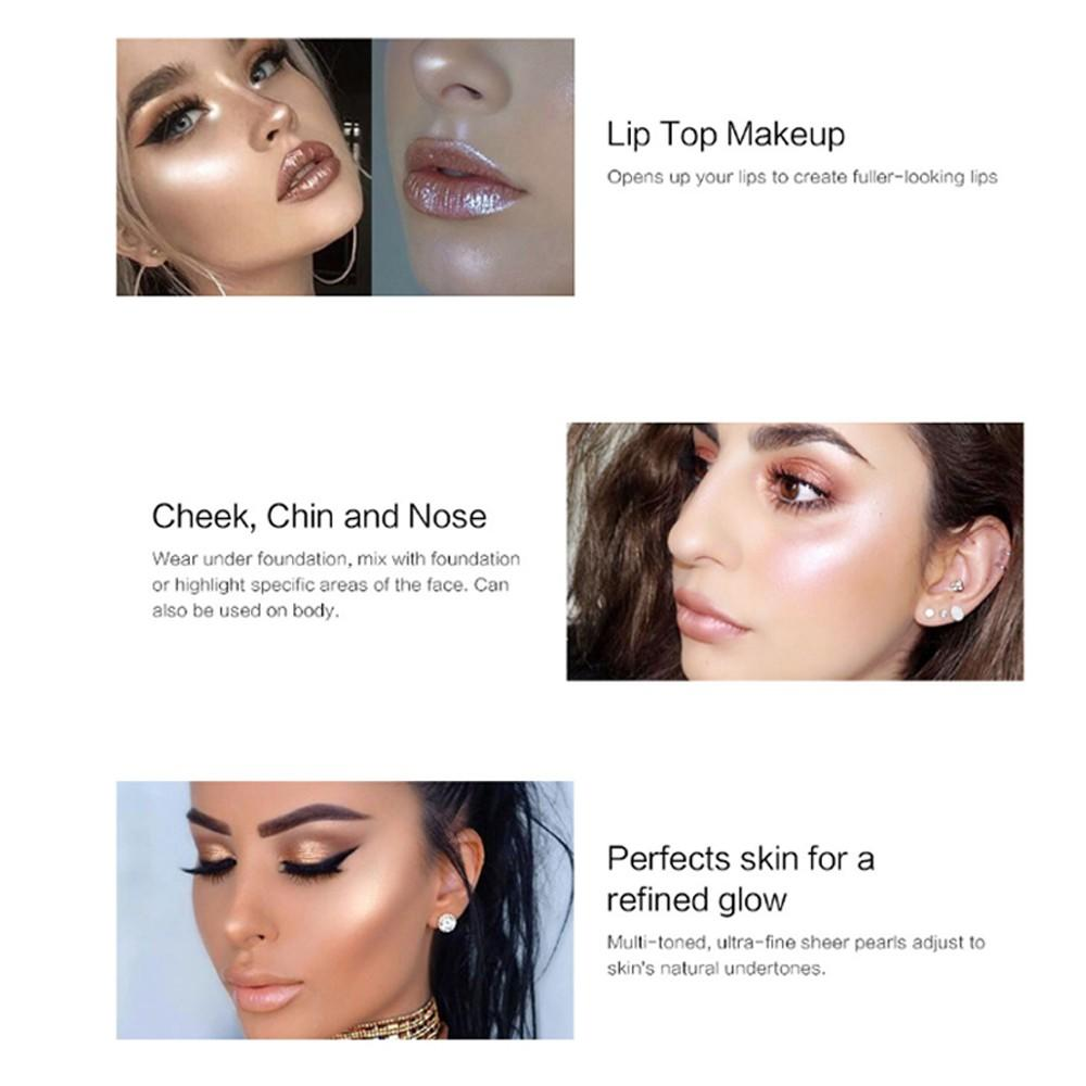 loose setting customized makeup highlighter palette lasting Beauty Secret Cosmetics