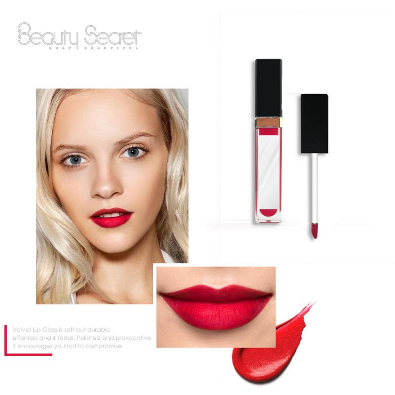 41 color Long lasting custom packaging mirror private label cosmetics  matte liquid lipstick