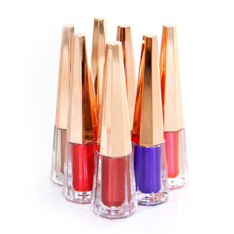 Cosmetics vendors wholesale makeup private label make your own waterproof metallic liquid lipstick