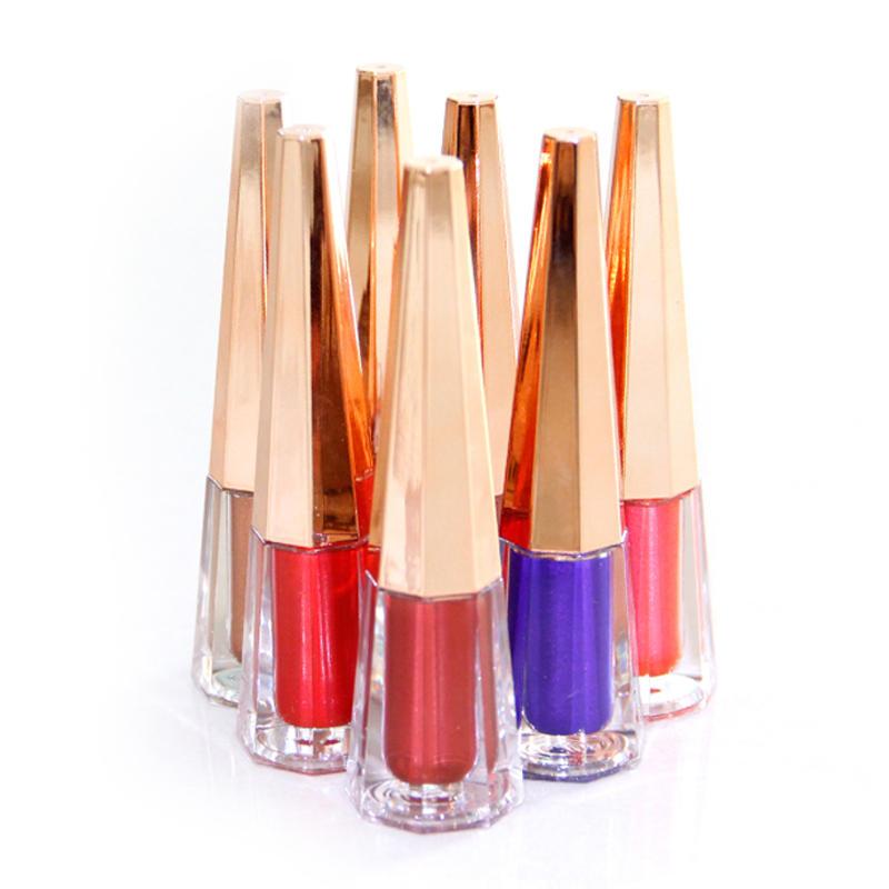Cosmetics vendors wholesale makeup private label make your own waterproof metallic liquid lipstick