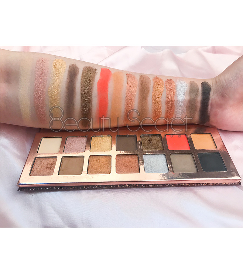 Beauty Secret Cosmetics shining shimmer eyeshadow palette with custom logo fast delivery-9