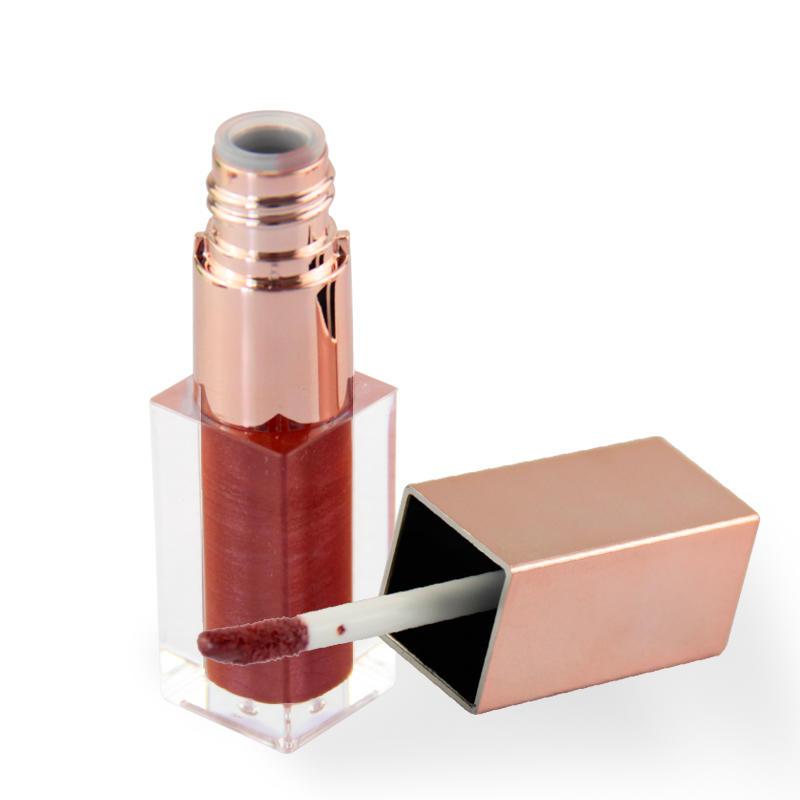 Makeup custom hot selling 6 colors liquid private label matte lip gloss