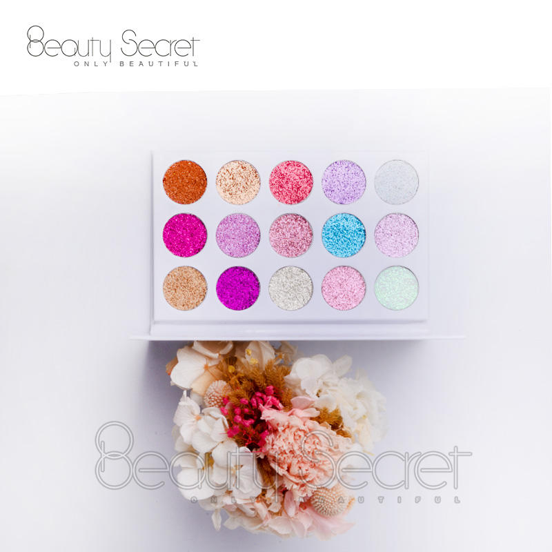 Cosmetics Makeup Shimmer Eye Shadow Palette Glitter Eyeshadow
