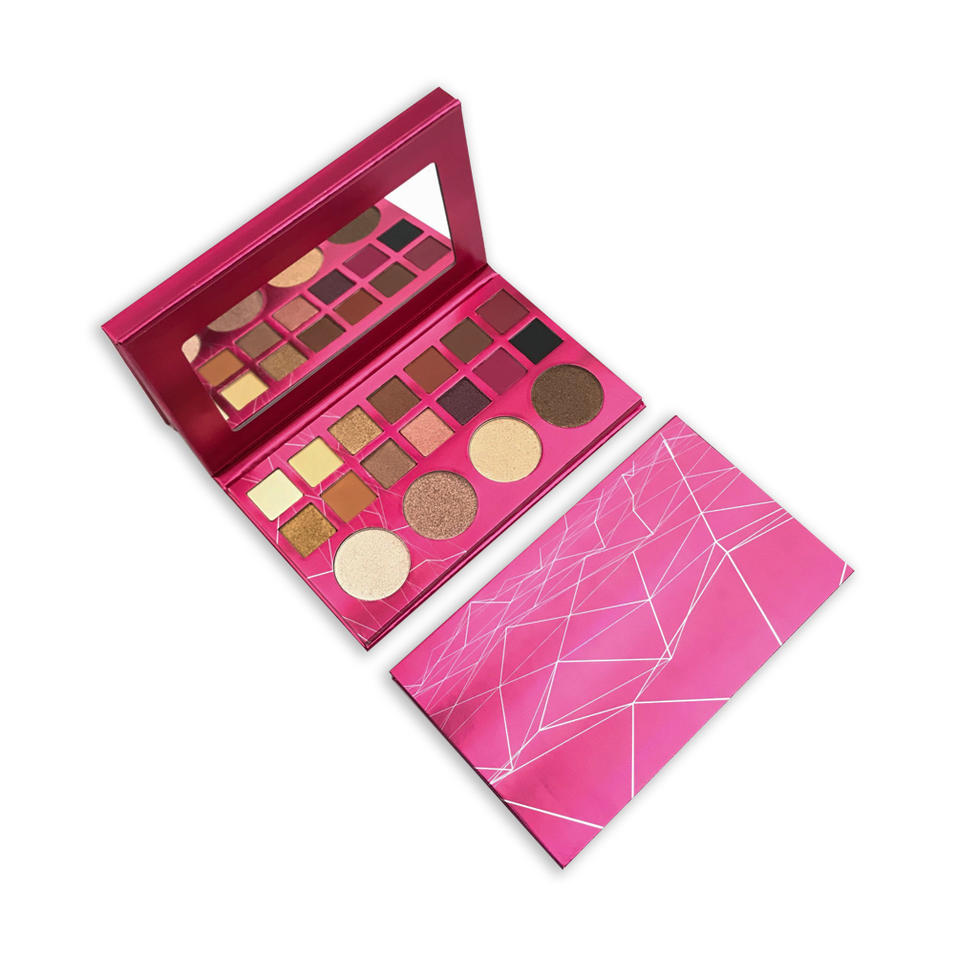 Custom private label no logo highly pigmented eye shadow palette