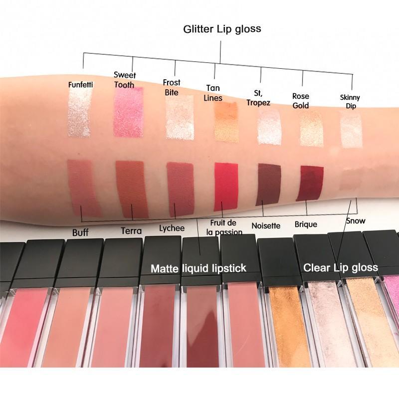 superior quality metalic lip gloss good selling for sale Beauty Secret Cosmetics