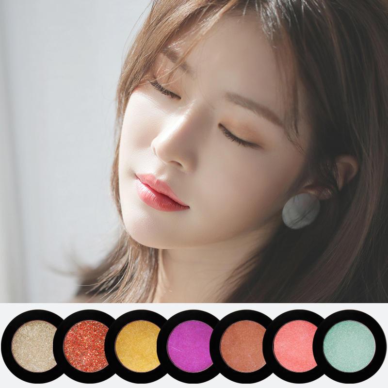 Fashion Shimmer Custom Logo Glitter Private Label OEM 36mm Single Eyeshadow