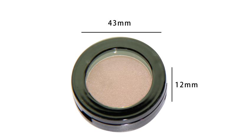 Beauty Secret Cosmetics plastic shimmer eyeshadow palette with custom logo for ladies-5