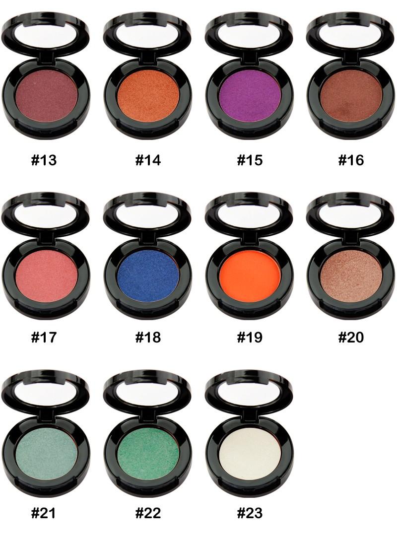 Beauty Secret Cosmetics plastic shimmer eyeshadow palette with custom logo for ladies-8