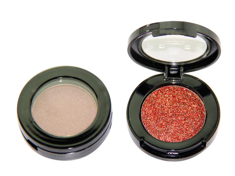 Beauty Secret Cosmetics plastic shimmer eyeshadow palette with custom logo for ladies-10