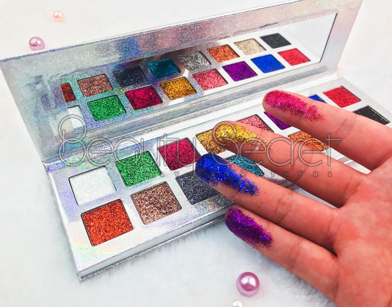 Beauty Secret Cosmetics glitter glitter eye makeup powder for makeup-7